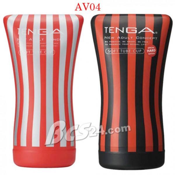 Âm đạo giả Tenga Soft Tube Cup - Nhật Bản - (AV04)