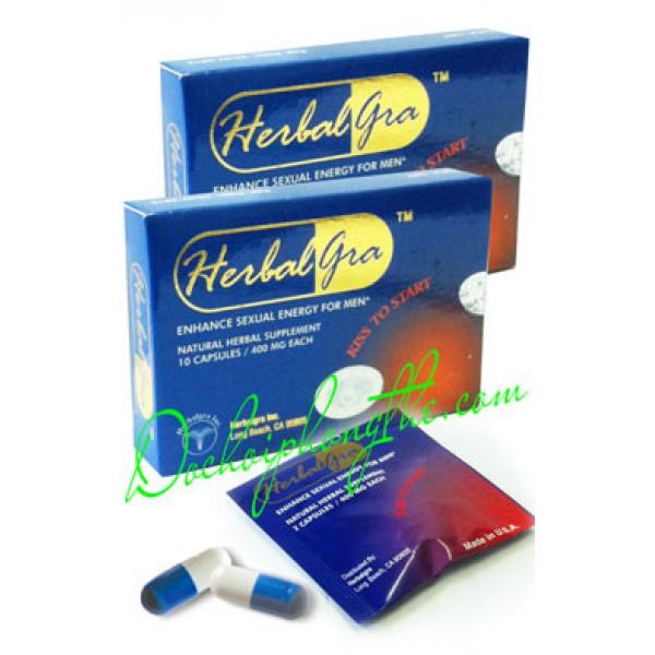 Thuốc cho nam Herbalgra For Men - (TPCN01)