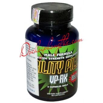 Thuốc Tăng Cường Sinh Lý Nam Virility Pills VP-RX - (TPCN03)