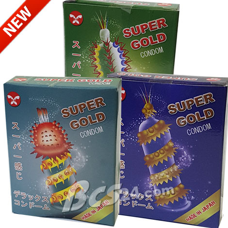 Bao cao su siêu gai Super Gold
