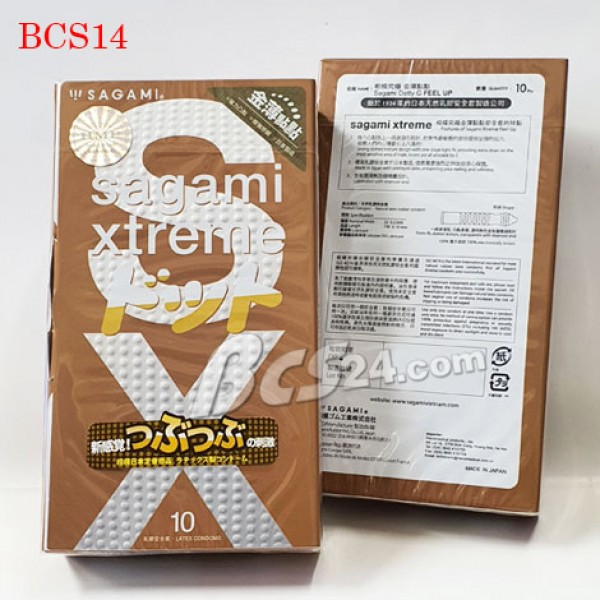 Bao cao su Sagami Xtreme Feel Up - (BCS14)