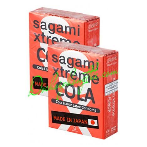 Bao cao su Sagami Extreme Cola - (BCS15)