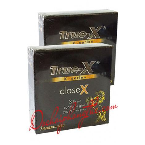 Bao cao su True-X CloseX ôm sát - (BCS86)