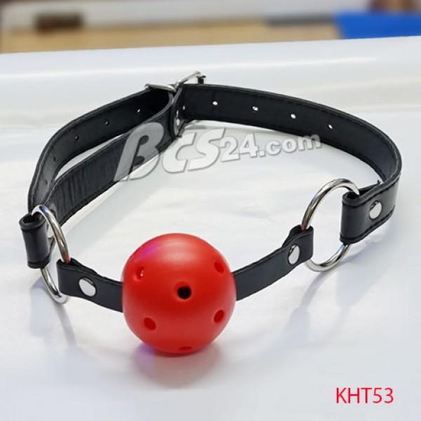 Đồ chơi bạo dâm SM - Khóa hàm dây da - (KHT53)
