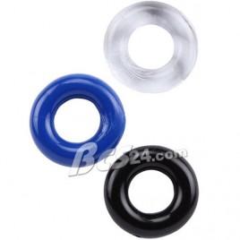 Chàng sung nàng sướng với bộ 3 vòng cock ring silicon Chisa - (VG27A)