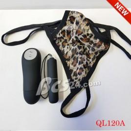 Quần lót nữ gợi cảm có rung điều khiển từ xa kích thích âm đạo - (QL120A)