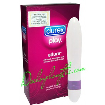 Bút rung massage Durex Play Allure - (DRLA1)