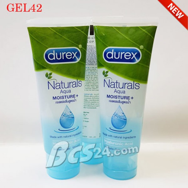 Gel bôi trơn Durex Naturals Aqua Moisture - Cân bằng PH chống viêm - (GEL42)
