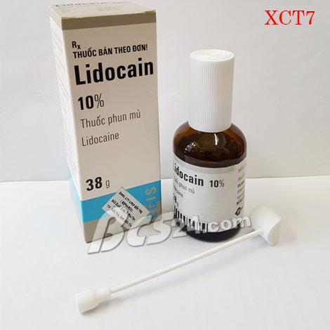 Thuốc xịt trị xuất tinh sớm Lidocain 10%