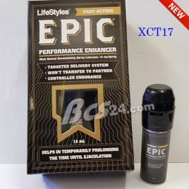Thuốc xịt chống xuât tinh sớm Epic LifeStyles - Đức - (XCT17)