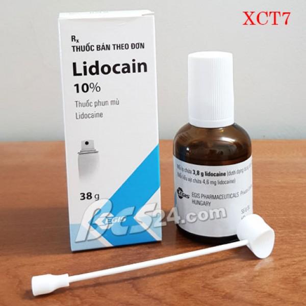 Thuốc xịt trị xuất tinh sớm Lidocain 10% - (XCT7)