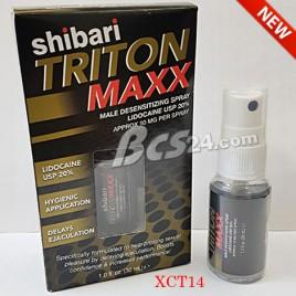 Shibari Triton Maxx thuốc xịt chống xuất tinh sớm tốt nhất - Mỹ - (XCT14)
