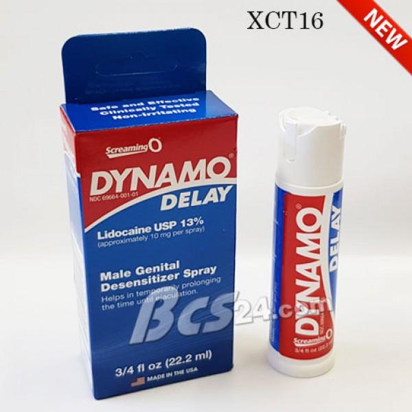 Thuốc xịt chống xuất tinh sớm kéo dài thời gian quan hệ Dynamo Delay - Mỹ - (XCT16)