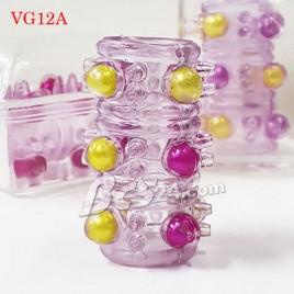 1.Vòng đeo dương vật gai râu bi - (VG12A)